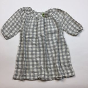 Isabel Garreton Girl's Dress 4 Cotton Plaid LL11